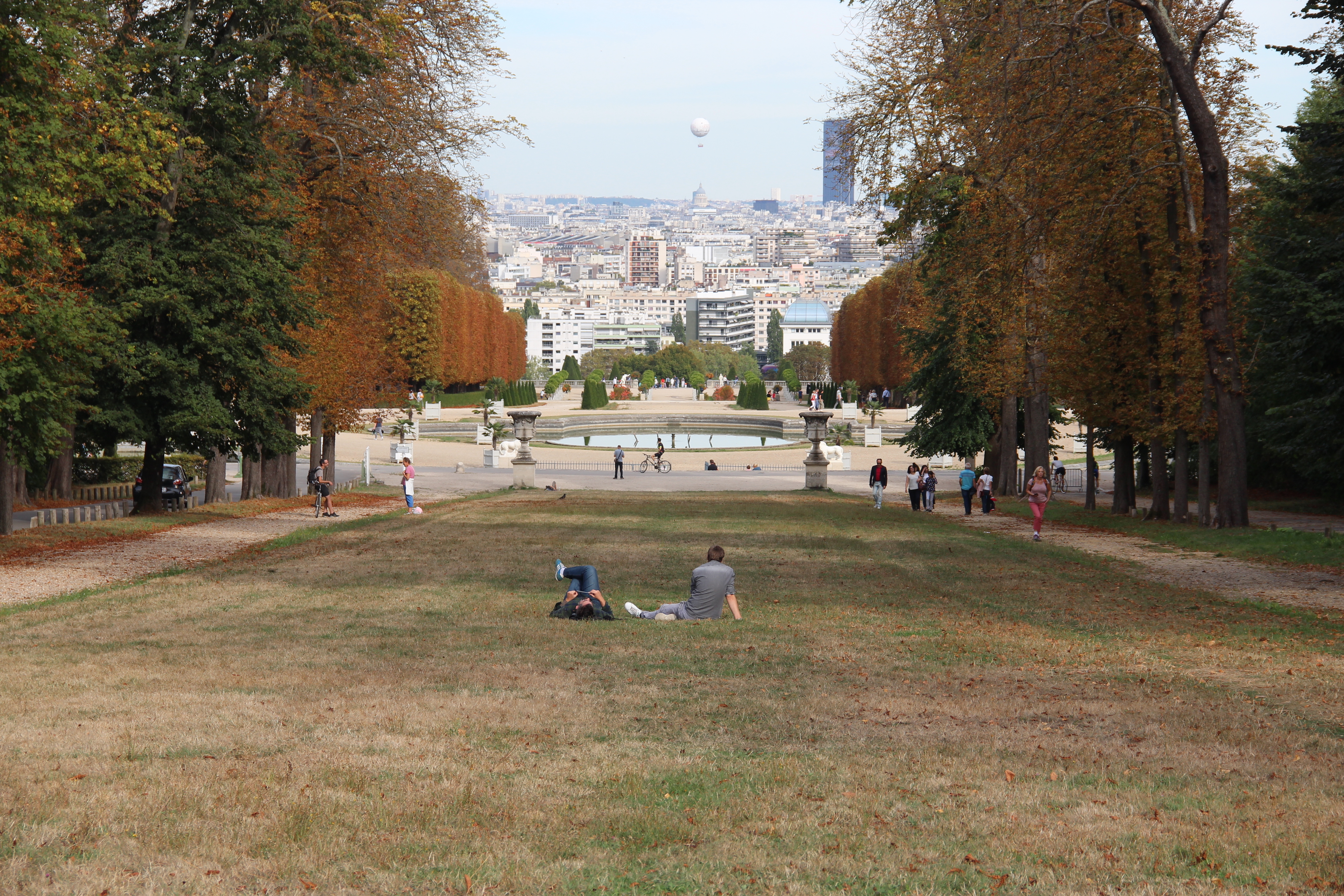 parc saint cloud paris