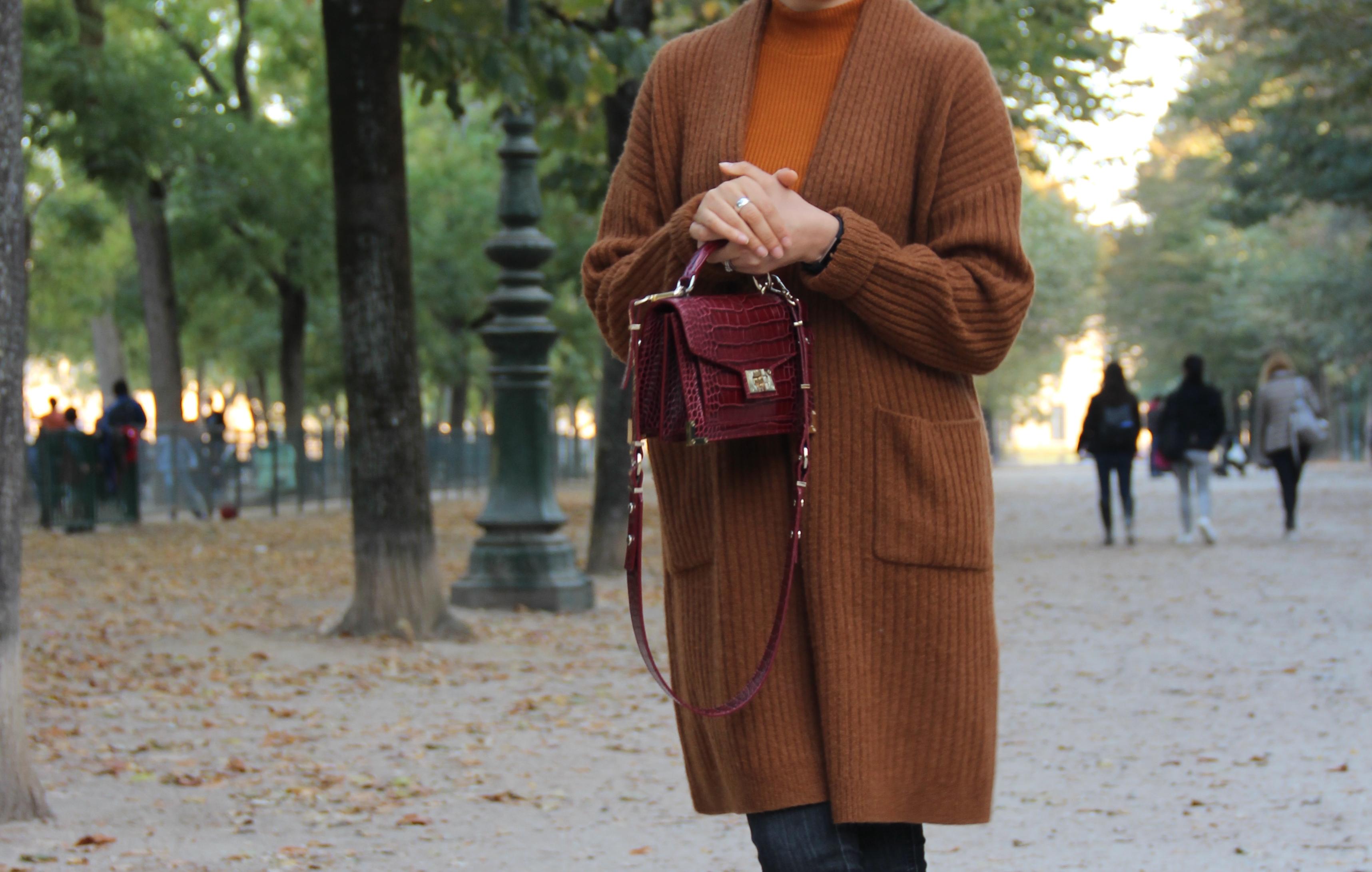 gilet en laine automne