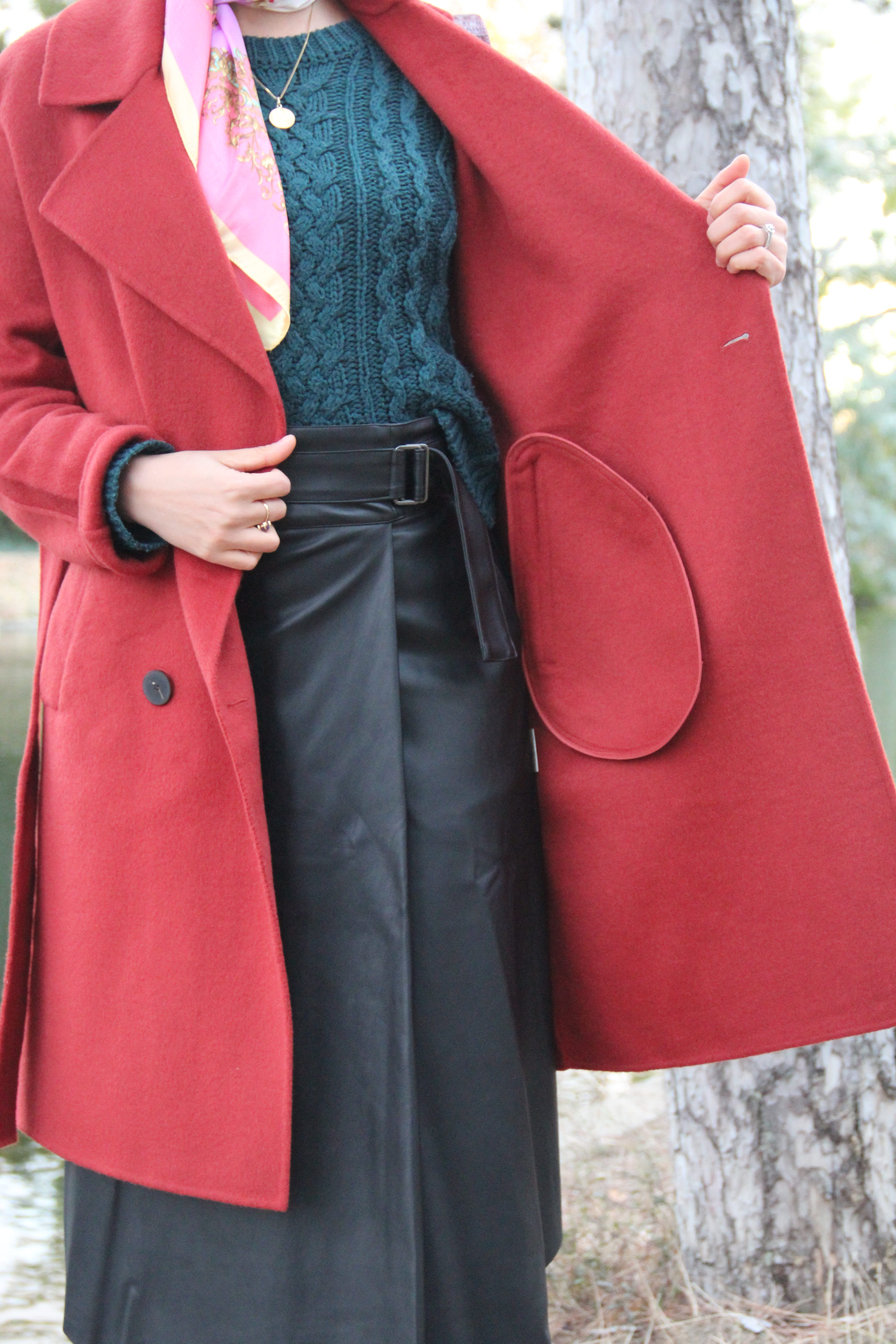 manteau en laine sézane