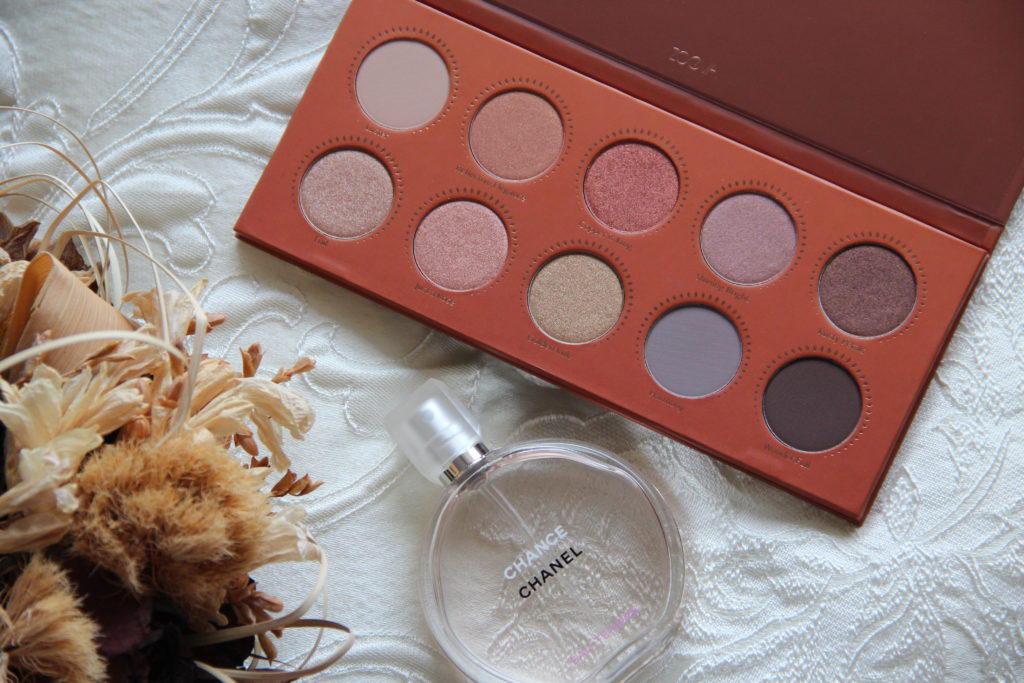 palette rose golden zoeva