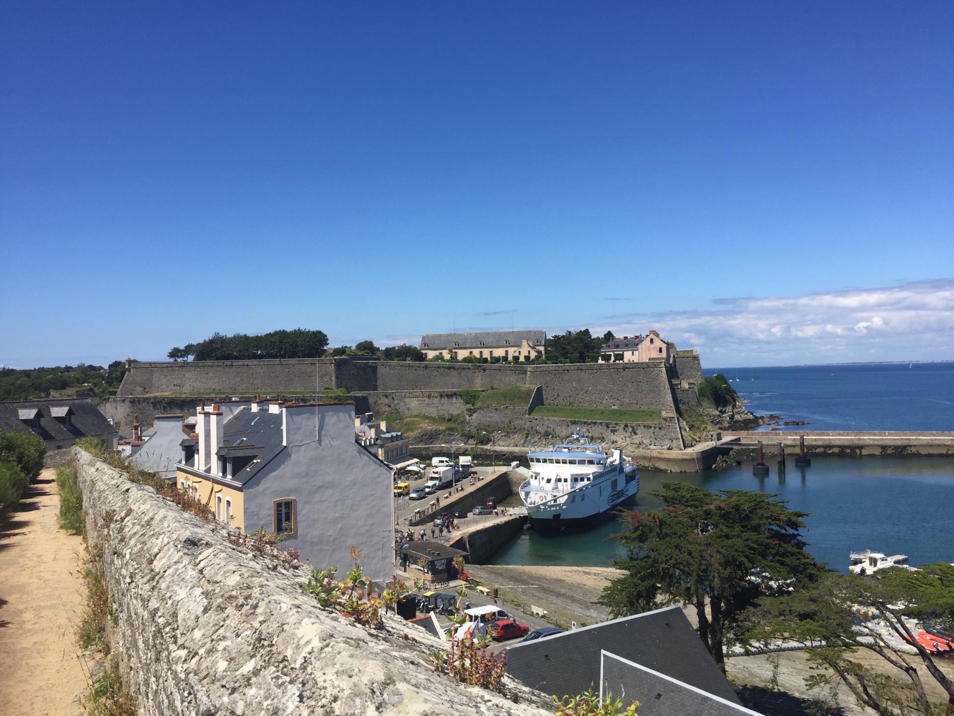 Port de belle-îl bretagne